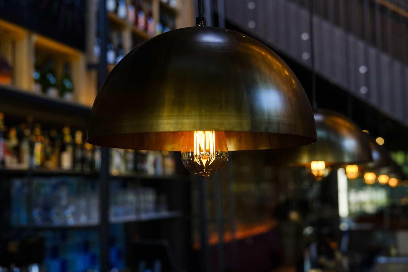 Voorbeeld lamp verlichtingsindustrie