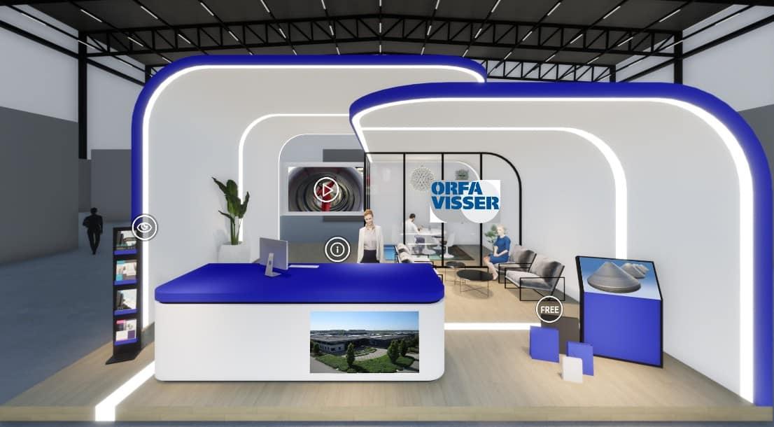 Virtuele stand Orfa Visser